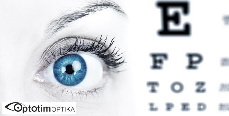Kompletan oftalmološki pregled u Poliklinici Optotim za 199 kn!