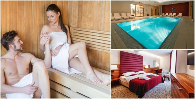 [HOTEL SPORT****] Još niža cijena! 1 noćenje s doručkom za 2 osobe uz korištenje sauna, bazena i relax zone te aromamasažu, piće dobrodošlice i kolač kuće