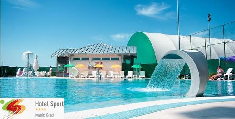 [BAZEN] Ulaznica za bazen Hotela Sport i 1 miješana pizza za samo 49 kn!