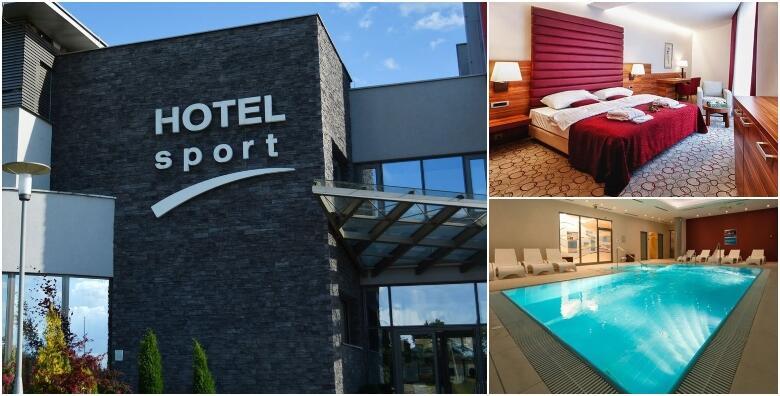 Wellness oaza u Hotelu Sport 4* - 1 ili 2 noćenja s polupansionom za 2 osobe uz besplatno korištenje saune, unutarnjeg bazena, relax zone i teretane od 349 kn!