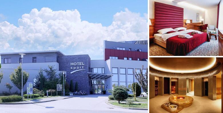 Hotel Sport 4* - 1 ili više noćenja s polupansionom za 2 osobe korištenje wellnessa od 479 kn!
