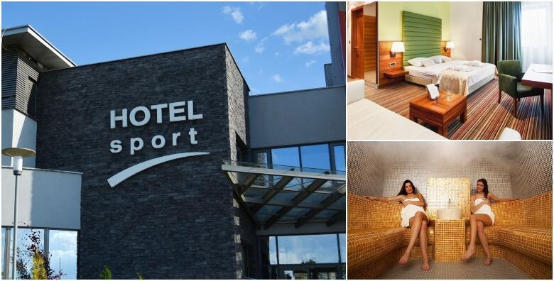 POPUST: 47% - Wellness oaza u Hotelu Sport 4* - 1 ili više noćenja za 2 odrasle osobe s polupansionom i gratis smještaj s doručkom za 1 dijete do 5 godina od 499 kn! (Hotel Sport 4*)