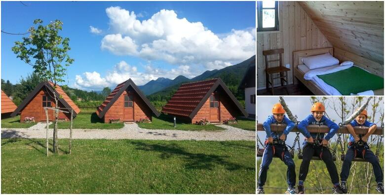 Rizvan City, Velebit - 3, 5 ili 7 noćenja u bungalovu s adrenalinskim avanturama od 1.339 kn!