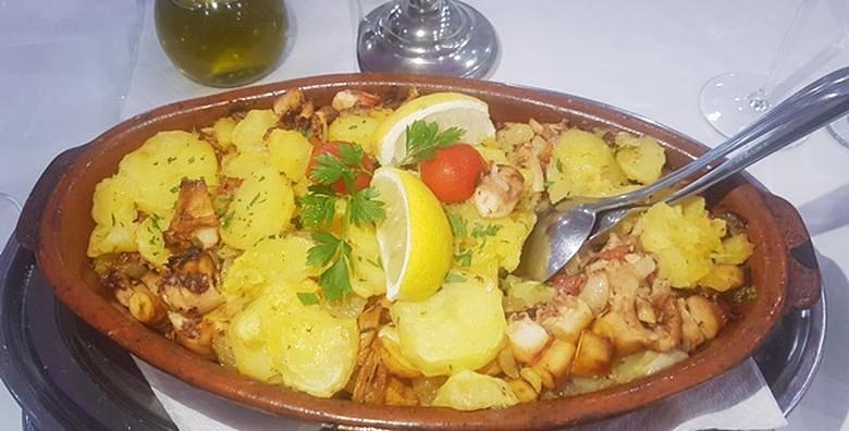 Hobotnica ispod peke s krumpirom, riblja juha i desert za dvije osobe za 129 kn!