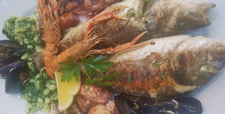 Bogata riblja plata za dvoje u Restoranu Casablanca za 195 kn!