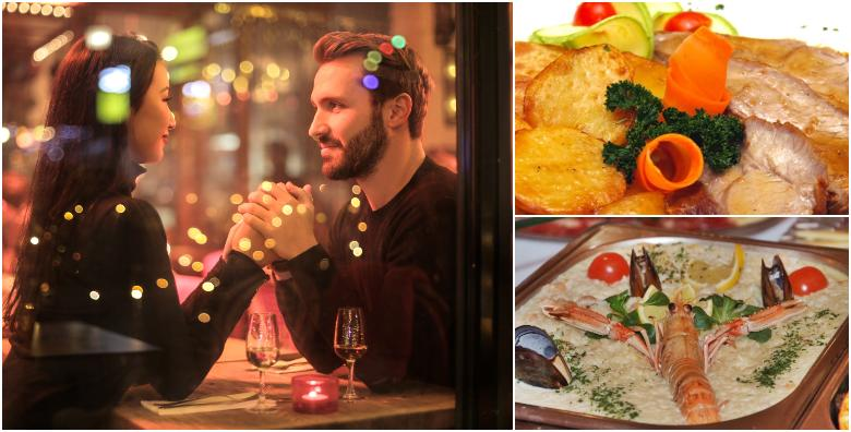 Ponuda dana: Uživajte u okusima uz riblju ili mesnu platu za dvoje na Dan zaljubljenih za 249 kn! (Restoran Casablanca)
