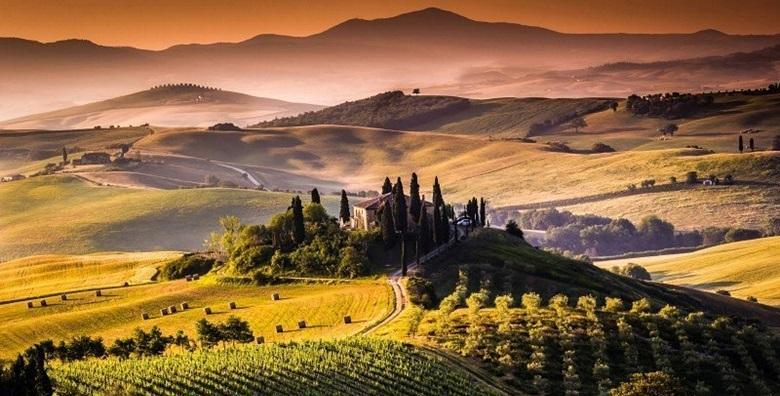 Ponuda dana: TOSKANA Doživite nezaboravne trenutke u čarobnoj talijanskoj regiji poznatoj po vinu i bogatoj gastro ponudi - 3 dana s doručkom u hotelu 3/4* za 899 kn! (Turistička agencija Svijet putovanja ID-KOD  HR-AB-01-080755286)