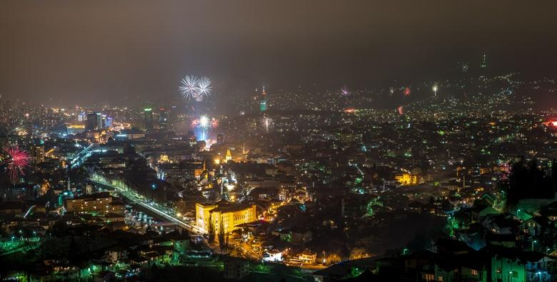 Nova godina u Sarajevu - nezaboravan doček uz Željka Joksimovića!3 dana s doručkom u Hotelu Grand 3* i uključenim prijevozom za 759 kn!