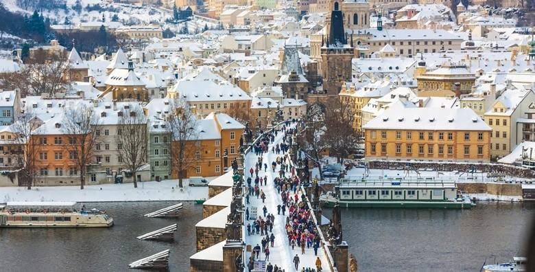Zimski praznici u Pragu, hotel 3* - 3 dana s doručkom i prijevozom od 675 kn!