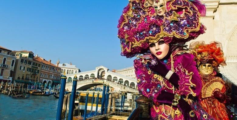 Karneval u Veneciji - izlet s prijevozom za 189 kn!