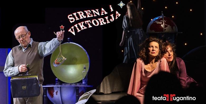 """Ponuda dana: Raskošna i dirljiva komedija """"Sirena i Viktorija"""" 29. rujna u Lisinskom! Duhovita, zabavna i sočna priča, puna čežnje i strasti - samo 50 kn! (Koncertna dvorana Vatroslava Lisinskog)"""