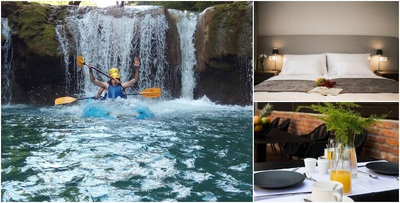 Karlovac - rafting i 2 noći s polupansionom za dvoje u Hotelu Florian & Godler 4* od 1.859 kn!
