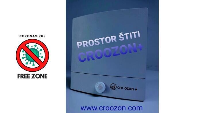 DNEVNI NAJAM uređaja CRO OZON + koji dokazano uništava koronavirus i sprječava širenje zaraze te je siguran za korištenje u prostorima uz prisutnost ljudi za 499 kn!