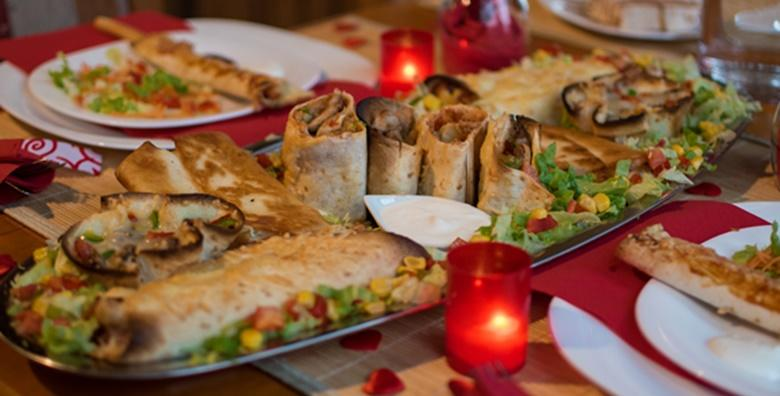 POPUST: 50% - Uživajte u specijalitetima meksičke kuhinje za dvije osobe za 199 kn! (Pizzeria El Mundo)