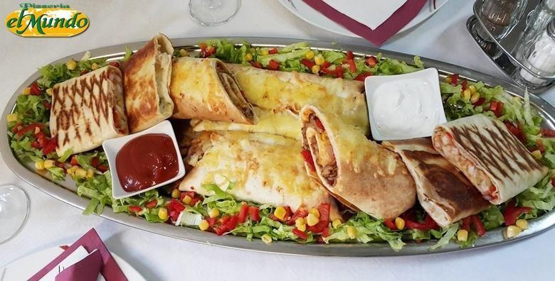 Uživajte u specijalitetima meksičke kuhinje za dvije osobe za 199 kn!