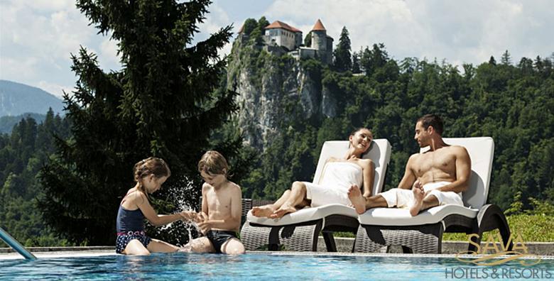 [BLED] Wellness odmor tik do jezera uz pogled na Julijske Alpe - 1 noćenje s polupansionom za dvoje u Hotelu Park 4*, EKSKLUZIVNO od 1.120 kn!