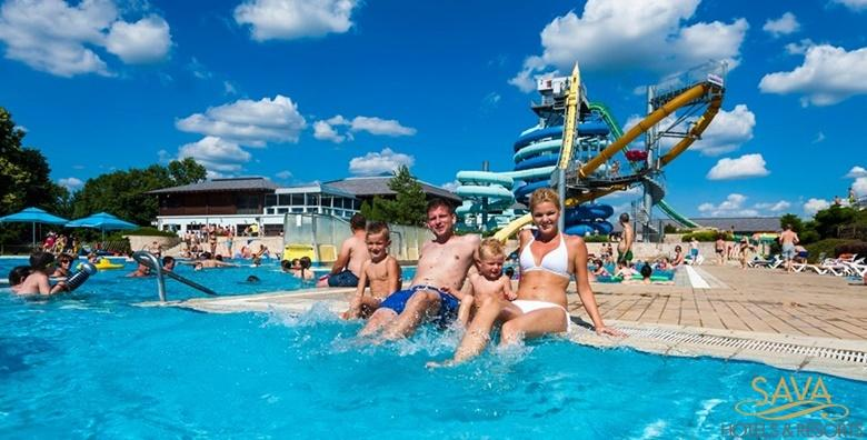 POPUST: 40% - MORAVSKE TOPLICE Ljetna zabava na bazenima i toboganima Termi 3000!1 noćenje s polupansionom za dvoje u Hotelu Livada Prestige 5* za 998 kn! (Terme 3000 - Hotel Livada Prestige*****)