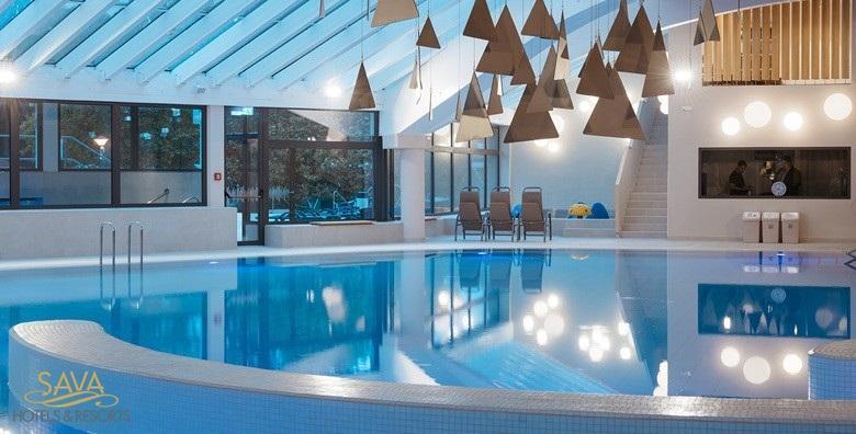 Moravske toplice - 1 noćenje s polupansionom za 4 osobe u luksuznim kućicama 4* za 1.206 kn!