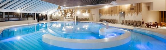 [MORAVSKE TOPLICE] 2 noćenja s polupansionom za dvoje u Hotelu Ajda 4* uz neograničeno kupanje u hotelskim bazenima i korištenje sauna za 1.837 kn!