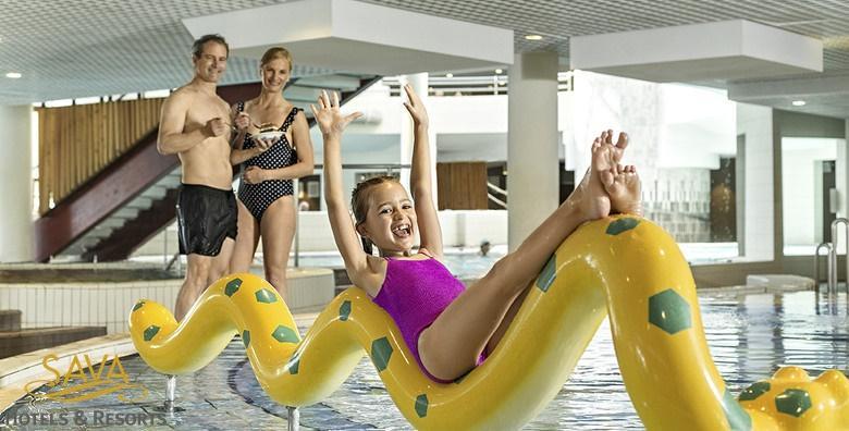 POPUST: 42% - Terme 3000 - 1 noćenje s polupansionom za dvije osobe u Hotelu Termal 4* uz kupanje u termama i hotelskim bazenima od 740 kn! (Terme 3000 – Hotel Termal****)