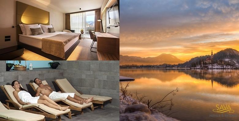 Wellness na Bledu - 1 noćenje za dvoje s polupansionom u Hotelu Rikli Balance 4* uz neograničeno kupanje u termalnim bazenima za 1.098 kn!