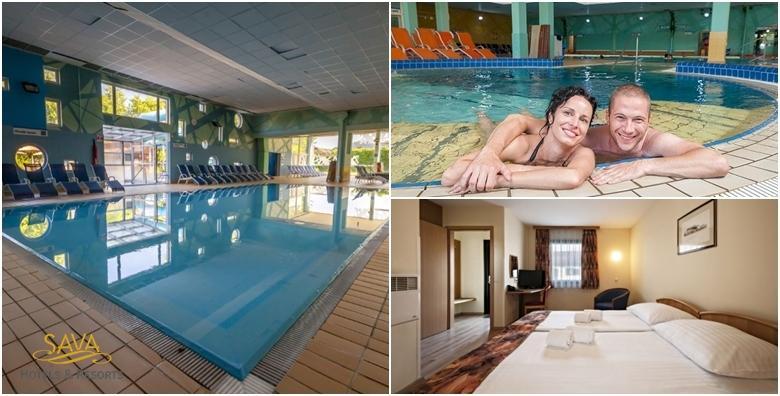 POPUST: 43% - Terme Ptuj - 1 noćenje s polupansionom za 2 osobe u bungalovu 3* uz ulaznicu za kupanje u bazenima te korištenje sauna već od 552 kn! (Terme Ptuj - bungalovi ili mobilne kućice***)