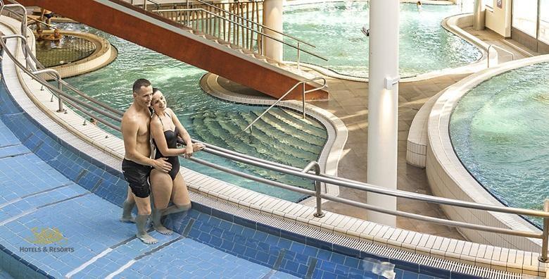 Terme 3000- 1 noćenje s polupansionom za dvije osobe u Hotelu Termal 4* uz kupanje u termama i hotelskim bazenima za 804 kn!