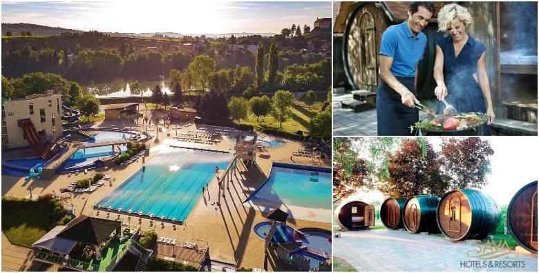 Terme Ptuj - 2 noćenja za 2 osobe u glamping Vinskom selu uz ulaz u bazene i saune za 969 kn!