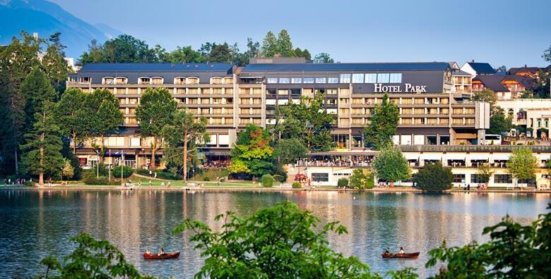 Bled, Hotel Park 4* - 1 noćenje s polupansionom za 2 osobe i korištenje bazena za 1.200 kn!