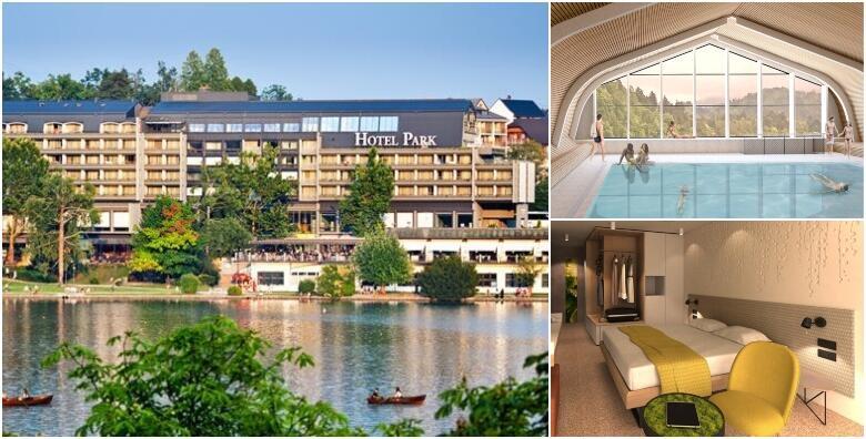Bled, Hotel Park 4* - savršeno opuštanje u hotelu s pogledom na Julijske Alpe uz 1 noćenje s doručkom za 2 osobe + gratis ponuda za 1 dijete do 6 godina za 1.087 kn!