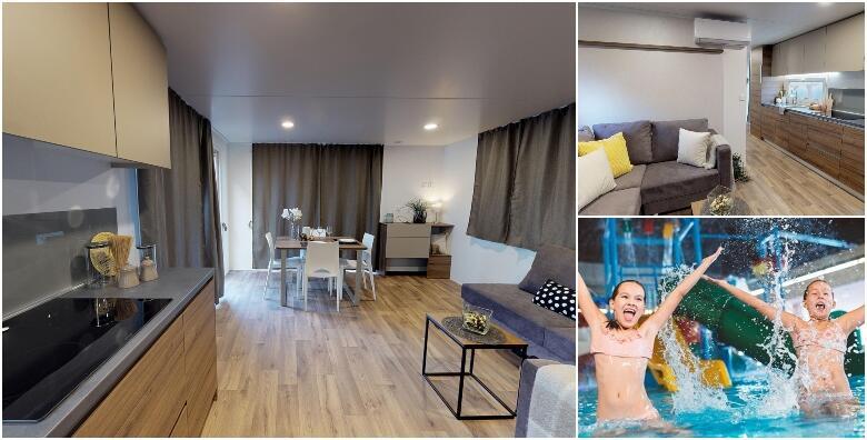 Glamping village 5*, Terme Tuhelj - 2 ili 3 noćenja za do 4 osoba u luksuznim mobilnim kućicama uz wellness i neograničeno korištenje bazena Vodenog svijeta od 3.326 kn!
