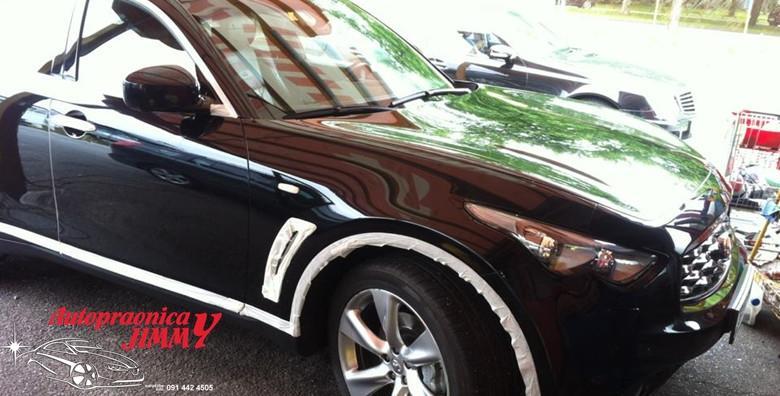 POPUST: 59% - Poliranje cijelog automobila 3M pastom uz vanjsko pranje i premaz voskom! Osigurajte postojanost laka na automobilu za 249 kn! (Autopraonica Jimmy)