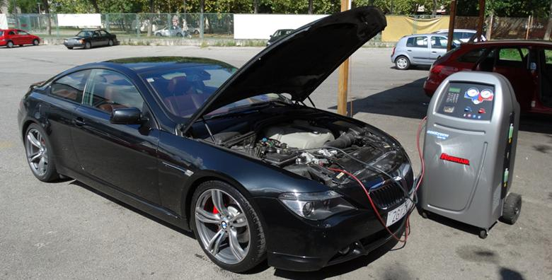 Punjenje auto klime do 500g uz izmjenu ulja u sistemu klime za 249 kn!