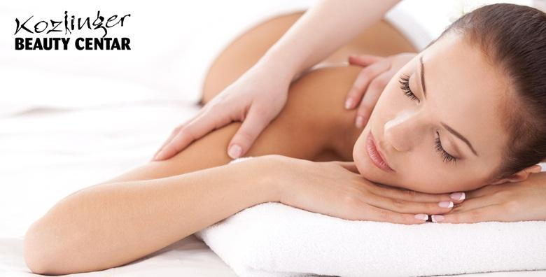 Medicinska masaža i cupping tretman leđa u trajanju 40 minuta za samo 89 kn!