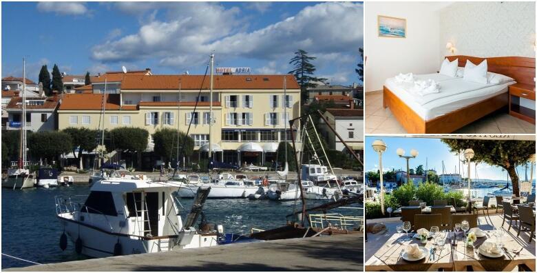 MALINSKA, otok Krk - predivan ljetni odmor i opuštanje u najomiljenijem mjestu na otoku uz 2, 3 ili 5 noćenja s doručkom u Hotelu Adria 3* za 2 osobe od 1.375 kn!