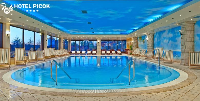 [HOTEL PICOK****] 2 noćenja s doručkom za dvije osobe uz korištenja bazena,  sauna i fitnessa te posjet izložbi Salvadora Dalija za 1.232 kn!