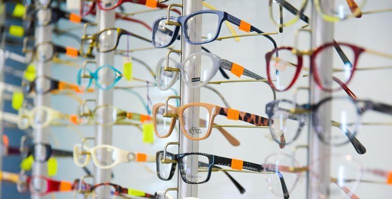 Kompletne dioptrijske naočale - okvir i stakla uz GRATIS kontrolu vida već od 474 kn!