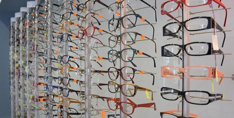 Voucher za kompletne dioptrijske naočale u vrijednosti 59 kn za popust od 50% !