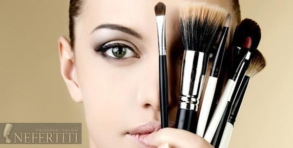 Tečaj šminkanja 1. ili 2. stupnja u trajanju od 8 sati