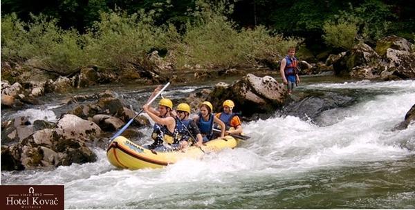 Rafting, kajak ili kanu s opremom za 1 osobu
