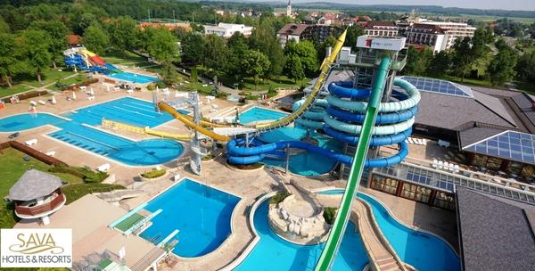 Terme 3000 - kupanje u unutarnjim i vanjskim bazenima