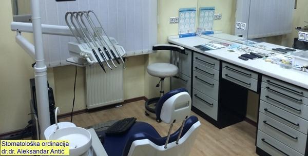 Plomba i stomatološki pregled intraoralnom kamerom