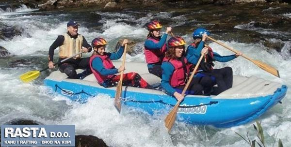 Rafting avantura na Kupi