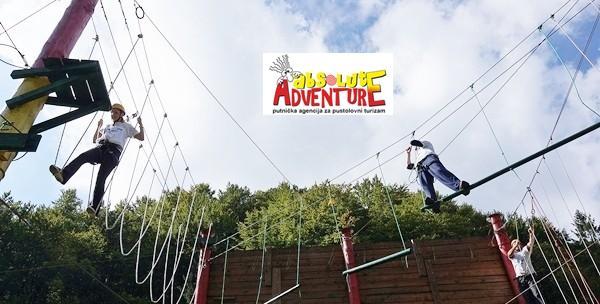 Adrenalinski park - roping poligon za 2 osobe