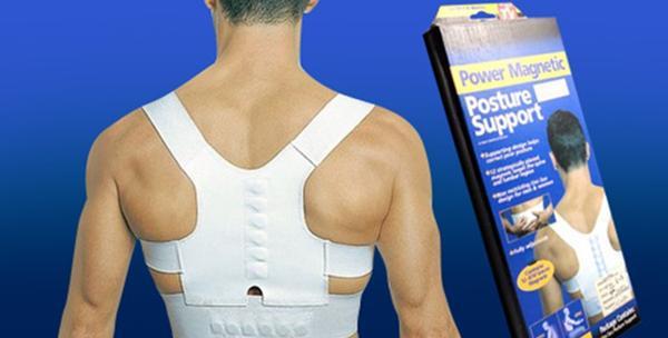 Magnetski steznik za pravilno držanje leđa
