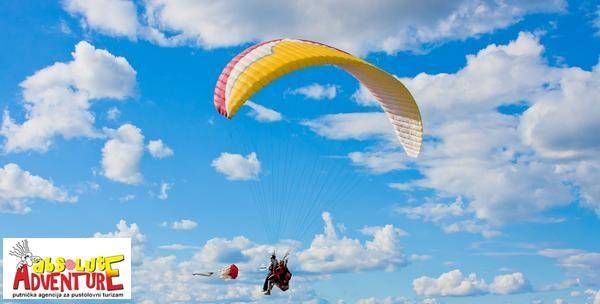 Paragliding let s instruktorom
