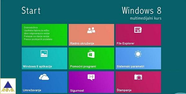 Windows 8 - online tečaj sa savjetima i trikovima