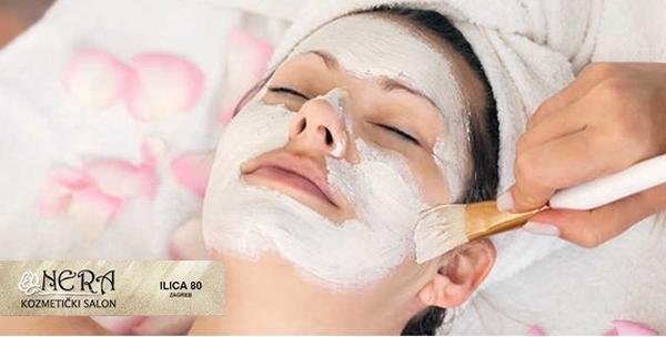 Čišćenje lica s posebnom maskom, ultrazvuk i ampula