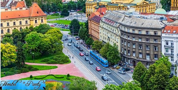 Zagreb, Hostel