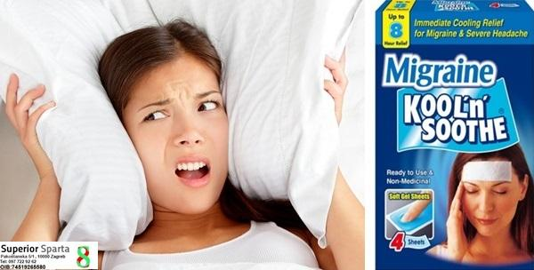 Flasteri za ublažavanje glavobolja
